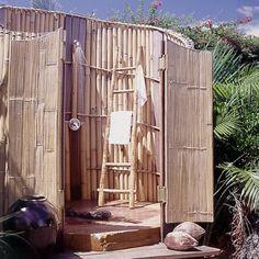 Seaside Shower  - Virgin Gorda Getaway - Coastal Living