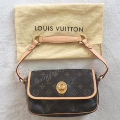 Louis Vuitton handbag MAKE AN OFFER Great condition, barely used. Kept in the dust bag whenever not in use - the leather has barely patina. Interior: super clean/like new. Overall this bag is in such great condition, almost like new! I've seen many used/obvious signs of use ones sold for $700! I baby all my expensive bags which is why its like new  Dust bag IS included. 100% AUTHENTIC (I don't own, use, or support fakes) FITS A LOT OF STUFF! **Join Poshmark app with my code HPYGO and get $10…