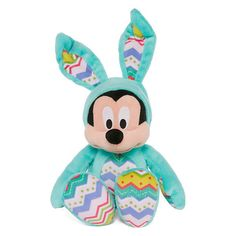 "Mickey Mouse 14"" Easter Bunny Plush - NWT Disney #Disney"