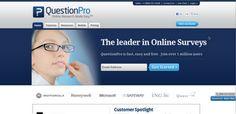 QuestionPro - crea tus propias encuestas online.