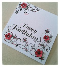 Created for Honey Doo Crafts by Tina Boyden. Honey Doo Crafts, Embossed Cards, Card Making Techniques, Card Making Inspiration, Flower Cards, Crafts To Do, Stampin Up Cards, Cardmaking, Birthday Cards