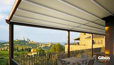 Awnings Ireland Awnings Canopies Blinds and Beer Garden Roofs. & MEDITERRANEA - Gibus adjustable fabric roof system. Exclusive to ...