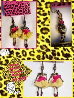 Betsey Johnson Earrings on sale on eBay soon!