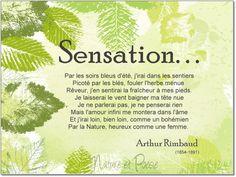 Sensation - Arthur Rimbaud