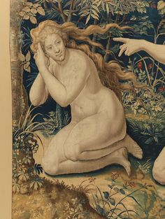 """Designed by Pieter Coecke van Aelst (Netherlandish, 1502–1550). Story of Creation: God Accuses Adam and Eve after the Fall tapestry (detail), ca. 1548. Woven under the direction of Jan de Kempeneer (Netherlandish, active 1540–56) and Frans Ghieteels (Netherlandish, active ca. 1545–after 1581), by 1551. Palazzo Pitti 