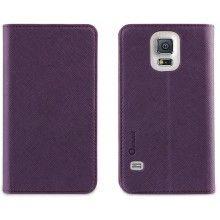 Capa Samsung Galaxy S5 Muvit Slim Folio Roxa R$58,50