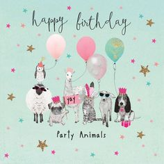 ideas birthday wishes cute bday cards for 2019 Happy Birthday Animals, Happy Birthday Dog, Happy Birthday Beautiful, Happy Birthday Parties, Happy Birthday Images, Happy Birthday Greetings, Birthday Fun, Birthday Quotes, Happy Party