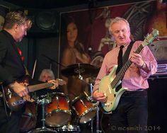 Dead Pyrates Drummer Mark Hamilton with Gary Myrick and David Dinnard.