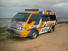 Kia Besta Ambulance Maputo Mozambique Africa