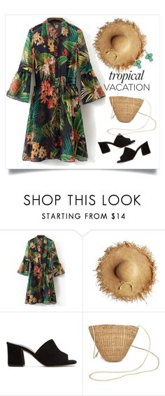 """""""Tropical Paradise"""" by thaliatria ❤ liked on Polyvore featuring Maryam Nassir Zadeh and Monet"""