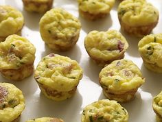 A quiche recipe perfect for game day: Mini Quiches with Bacon & Cheddar Cheese. Touchdown!