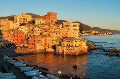 Le 15 Città italiane più colorate d'autunno - Boccadasse (Genova)