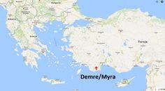 Demre / Myra w Turcji - siedziba biskupa Mikołaja III/IV wiek