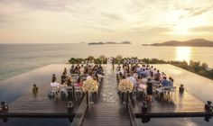 Gorgeous wedding ceremony in Phuket / Catherine & Jackie / Sri Panwa Resort - Phuket, Thailand by Darren and Jade Photography on OneThreeOneFour.com