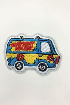 """""""Mystery Machine"""" Iron On Patch - Shop Lost Generation  - 1"""