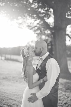 sunset kiss | wedding photography