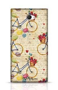 Hand Drawn Watercolor Pattern Sony Xperia M2 Phone Case
