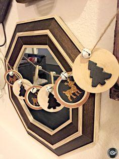 Rustic DIY Wood Slice Garland for Christmas Decor & Crafting