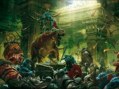 warhammer fantasy art - Google Search