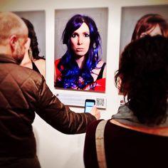 portrait, self-portrait, identity, fluid identity, social media, social-media art, Facebook, photography, art, character, female