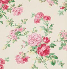 Rosewater Garden Romance Verna Mosquera USA von Rosenstoffe Shop auf DaWanda.com