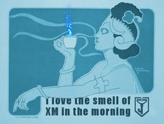 Nothing like the smell of XM in the morning! #ingress