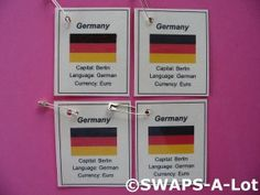 germany flag thinking day pin