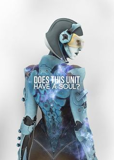 Does this unit have a soul? | EDI | Mass Effect by ddistortedpain on DeviantArt