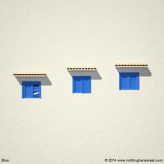 Blue #3d #3dart #art #digitalart #computergraphics #nothinghereisreal #blender #blender3d #b3d #blue #windows #shutters