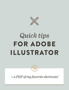 Since Adobe Illustrator is essential for my process, I thought it was time a few of my favorite tools took the stage today. I hope you find…