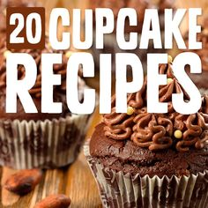 I love these cupcake recipes! So many different unique cake & icing flavors.