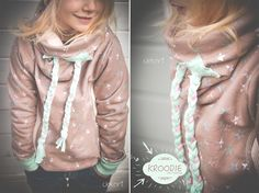 cool hoodie - for kids - sewing - diy - german