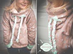 cool hoodie - for kids - sewing - diy - german