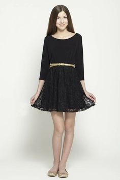 Tween fashion  lace dress by  www.isabellarosetaylor.com something Stacy London and Kelly Clinton would approve of ;) #WNTW <3