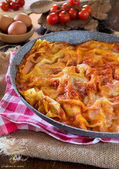Lasagne senza forno ricetta semplice