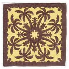hawaiian quilt patterns turtle   , Collection of Hawaiian Quilts , Quilting, Wall Hangings, Patterns ...