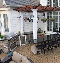 Modern outdoor kitchen design ideas 36
