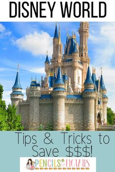 Plan your next Disney World Vacation with my top 10 money saving tips and tricks for visiting Disney World on a budget!  #disneyworld #disneytipsandtricks #disneyonabudget #disneyworldtips #disney
