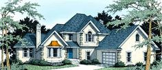 Eplans New American House Plan - Four Bedroom New American - 2406 Square Feet and 4 Bedrooms(s) from Eplans - House Plan Code HWEPL07458