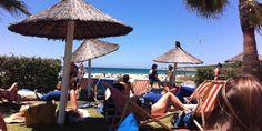 Chiringuito Tangana - Tarifa Spain, Journey, Nice, World, Outdoor Decor, Costa De La Luz, Beach Bars, Paths, Beaches