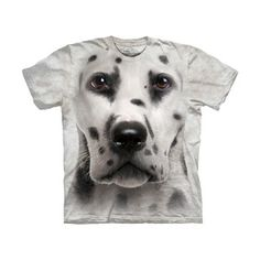 Dalmatian Face T-Shirt, 19€, now featured on Fab.