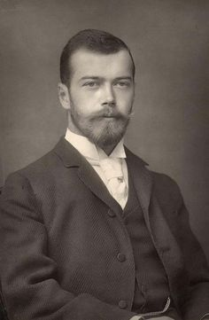 Nicholas Romanov of Russia. 1868-1918...i never really noticed until now that he was really good looking.