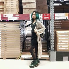 dr martens smooth green outfit