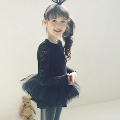 2015 Princess Babies Girls Tutu Flower Lace Party Dresses Christmas Sweet Girl Beige And Black Color Long Sleeve Cute Dresses From Smartmart, $61.36 | Dhgate.Com