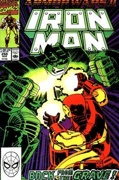 Iron Man Vol 1 259 - August 1990