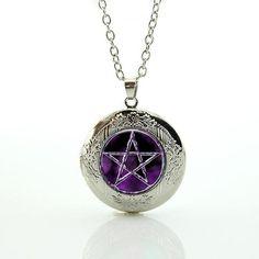 Pentacle/Pentagram Locket Pendant