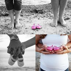 Maternity Shoot on the Beach // Blue Glacier Photography: