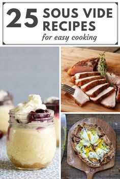 25 Sous Vide Recipes for Easy Cooking | the INSPIRED home