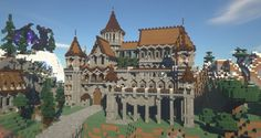 Minecraft Medieval Castle, Minecraft Castle Blueprints, Minecraft Building Guide, Minecraft House Plans, Minecraft Houses Survival, Minecraft Cottage, Minecraft House Tutorials, Minecraft Room, Minecraft Projects