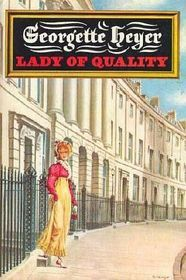 by Bodley Head (UK) & E. Dutton (US), Lady of Quality by Georgette Heyer, cover art by Edward Mortelmans Historical Romance, Historical Fiction, Good Books, My Books, Georgette Heyer, Beautiful Book Covers, Music Tv, Love Book, I Movie